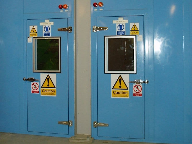 acoustic doors for noise control