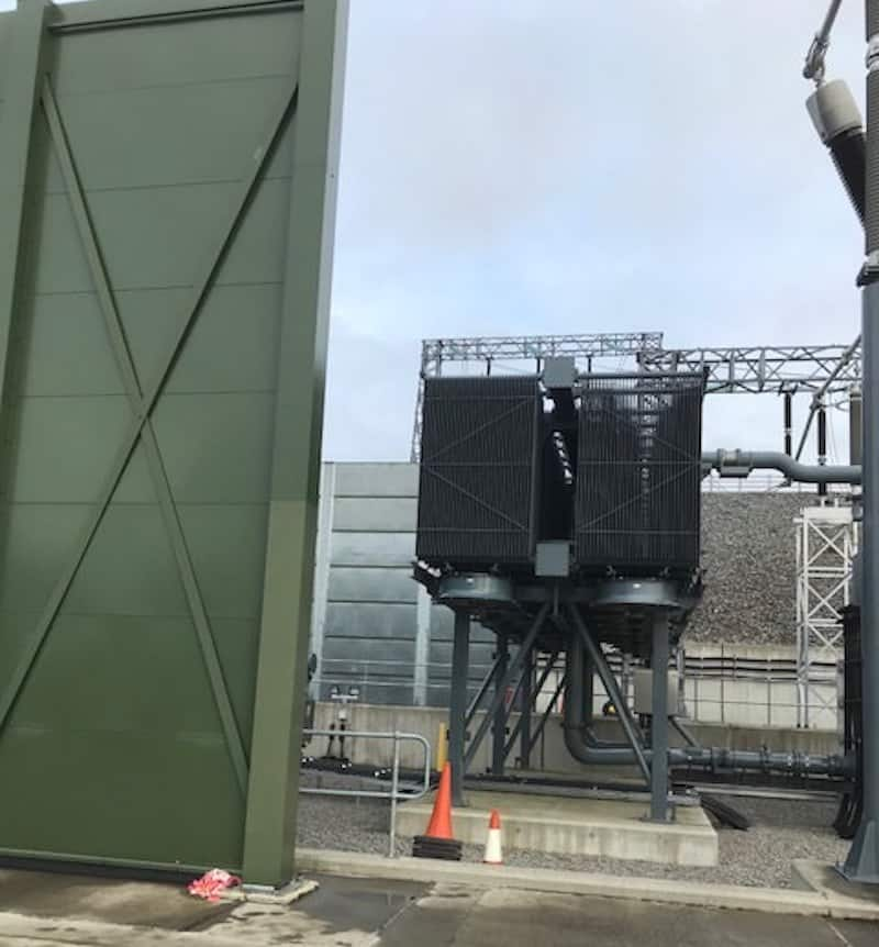 acoustic enclosure for a transformer