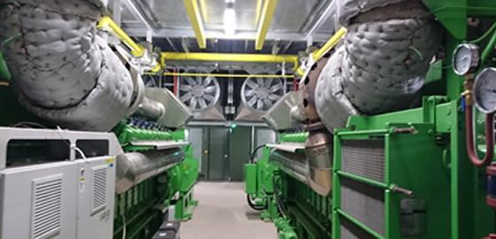 UK power reserve acoustic enclosure
